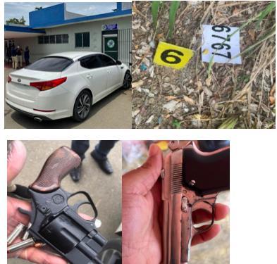 Policía captura peligrosa banda integrada por cuatro antisociales que ultimaron a un hombre e hirieron de bala a una mujer