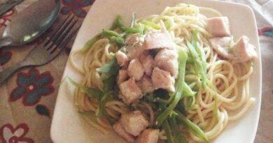 Receta de Espaguetis a la genovesa