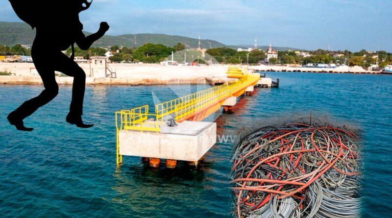 Roban cables eléctricos en Puerto de Barahona; operaciones continúan
