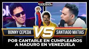 """""""Temo por mi vida"""": amenazan a Santiago Matías tras entrevistar a Bonny Cepeda"""