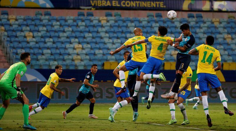 Brasil empata con Ecuador, ambos están en cuartos de la Copa América