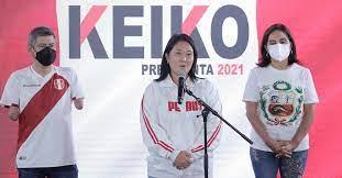 """Keiko Fujimori pidió esperar los resultados oficiales del ballotage en Perú: """"El margen es tan pequeño que hay que mantener la prudencia"""""""