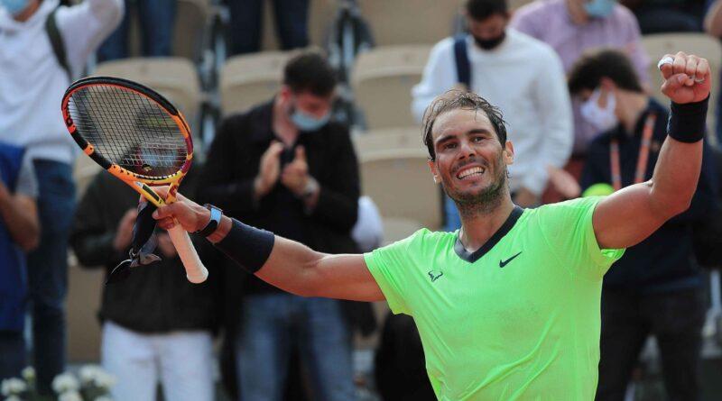 Rafael Nadal se apresura a sus 16 octavos de final en Roland Garros