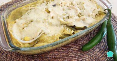 Receta de Pastel azteca verde