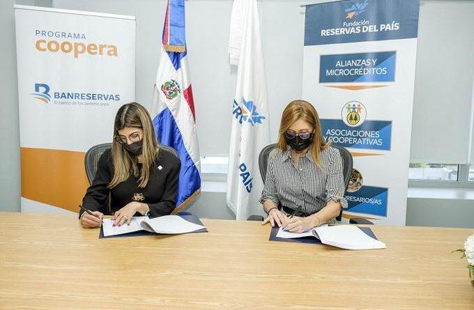 Reservas del País y Coopera Banreservas impulsarán desarrollo de cooperativas emergentes
