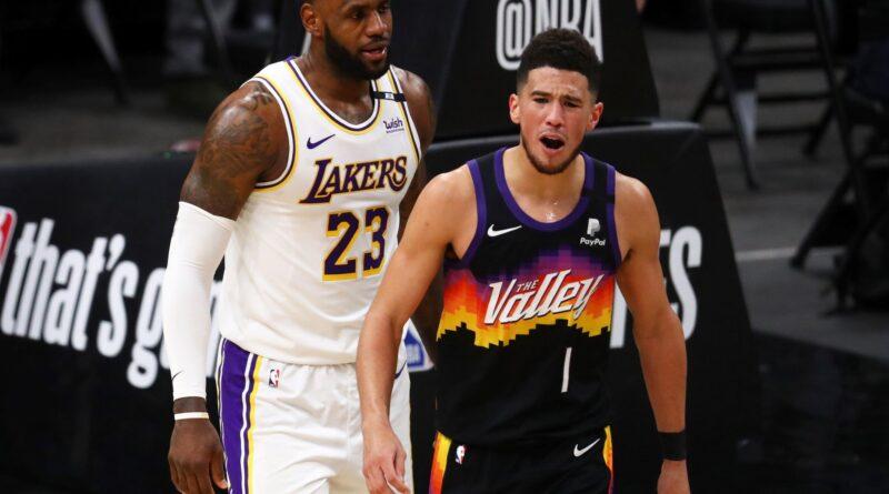 Los Suns calientan a Lakers y los vencen en la ausencia de Davis