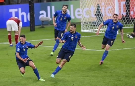 Suplentes le dan triunfo a Italia ante Austria en la Eurocopa