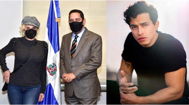 """Charytín """"La Rubia de América"""" alaba gestiones de Abinader y cónsul en Nueva York; documentará hijo como ciudadano dominicano"""