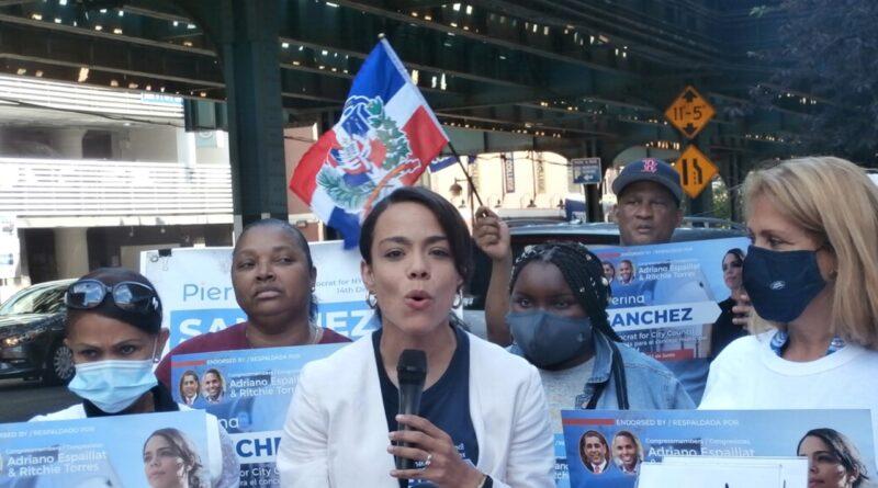 Con respaldo de congresistas, sindicatos y comunidad Pierina Sánchez asegura ganará en primera vuelta en distrito 14 de El Bronx