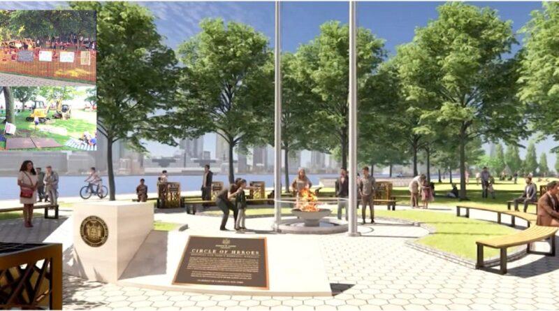 Residentes de Battery Park City se oponen a monumento en memoria de los trabajadores esenciales durante la pandemia