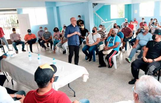 """Domínguez Brito critica forma de gobernar de Abinader: """"Aquí se está viendo mucha improvisación"""""""