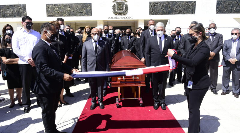 Cámara de Diputados rinde homenaje póstumo a Tirso Mejía Ricart