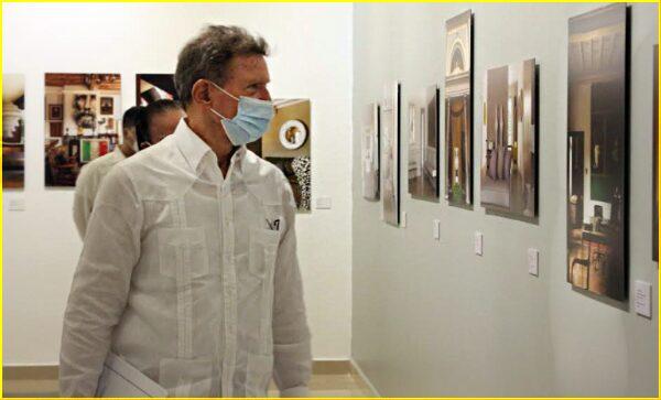 Canciller Roberto Álvarez realiza recorrido Centro de Convenciones y Cultura Dominicana UTESA