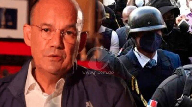 Miguel José Moya hizo entender a Jean Alain Rodríguez la realidad de estar en prisión