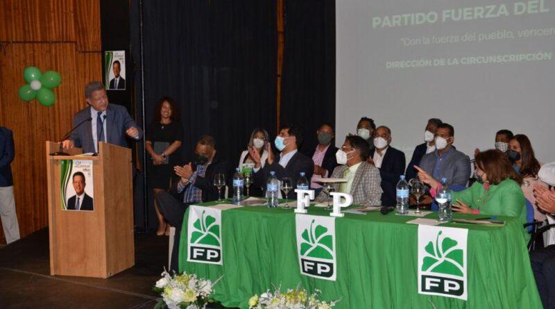 Leonel dice en Europa Fuerza del Pueblo continúa creciendo y fortaleciéndose nacional e internacionalmente