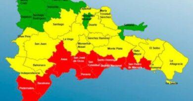 Extienden al Gran Santo Domingo y San Pedro de Macorís alerta máxima por el huracán