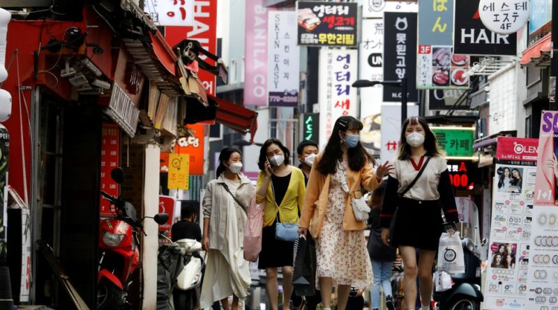 Corea del Sur registró la cifra más alta de nuevos contagios de COVID-19 en seis meses