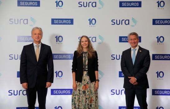 Seguros SURA celebra 10 años en República Dominicana