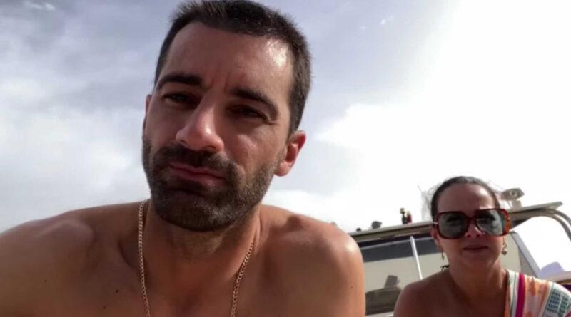 Toni Costa celebra estar con Adamari López y Alaïa en Capri