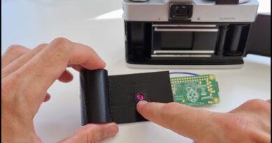 Convierte una vieja cámara de carrete en una digital con este hack de Raspberry