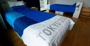 """Así son las camas """"anti sexo"""" que diseñaron para los atletas que participarán en los Juegos Olímpicos de Tokio"""