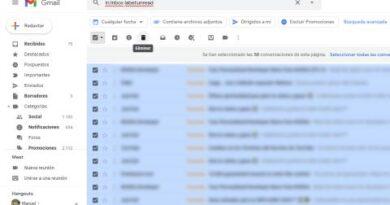 Cómo borrar esos emails antiguos sin leer en Gmail y dejar tu cuenta a cero