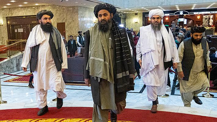 Talibanes aseguran que ya controlan el 85% del territorio de Afganistán