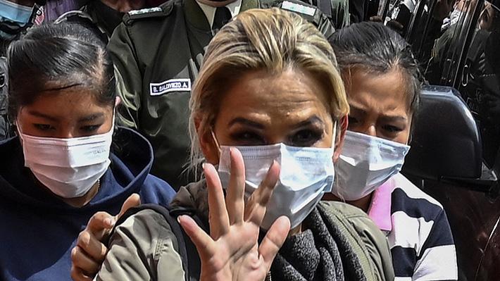 Ex Presidenta de Bolivia Jeanine Áñez pide audiencia con Michelle Bachelet para demostrar su inocencia