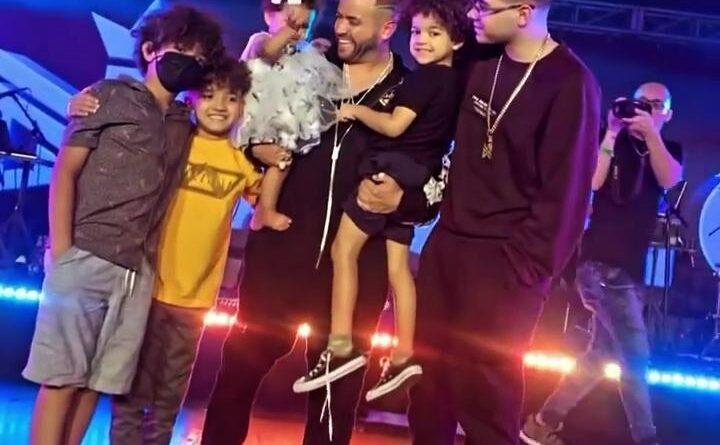 El emotivo reencuentro de Nacho con sus hijos