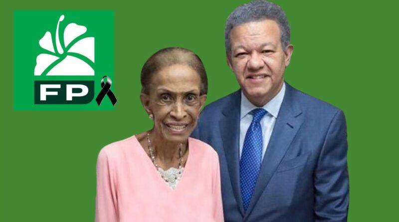 Dirección Política de FP en Nueva York se une al dolor del ex presidente Leonel Fernández por muerte de su madre