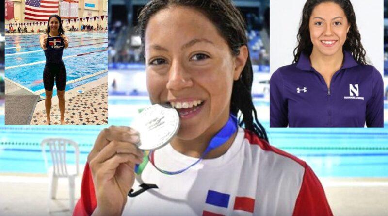 Nadadora dominico colombiana define como gran orgullo cultural representar a RD en Tokio 2020