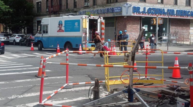 Restablecen electricidad a cientos de dominicanos en el Alto Manhattan afectados por tormenta eléctrica y lluvias