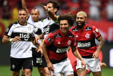 Flamengo aplastó a Olimpia y va a la semifinal de la Copa Libertadores