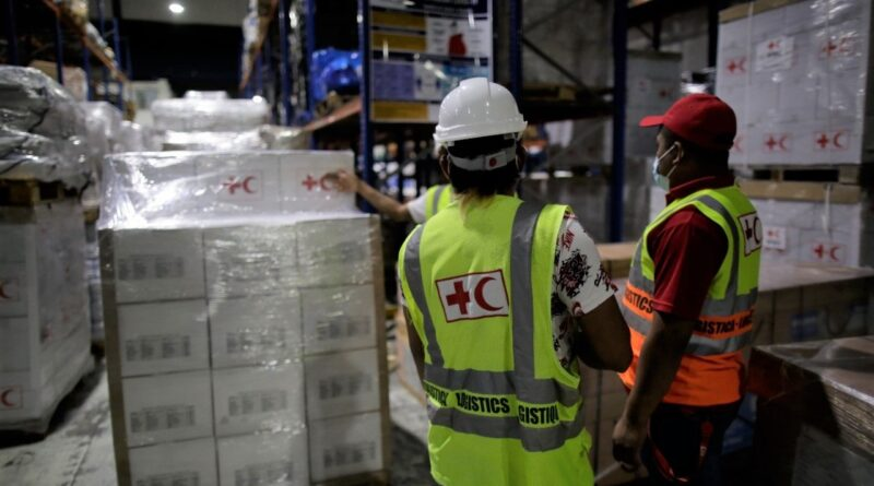 Cruz Roja Dominicana envía ayuda humanitaria a los afectados por terremoto en Haití