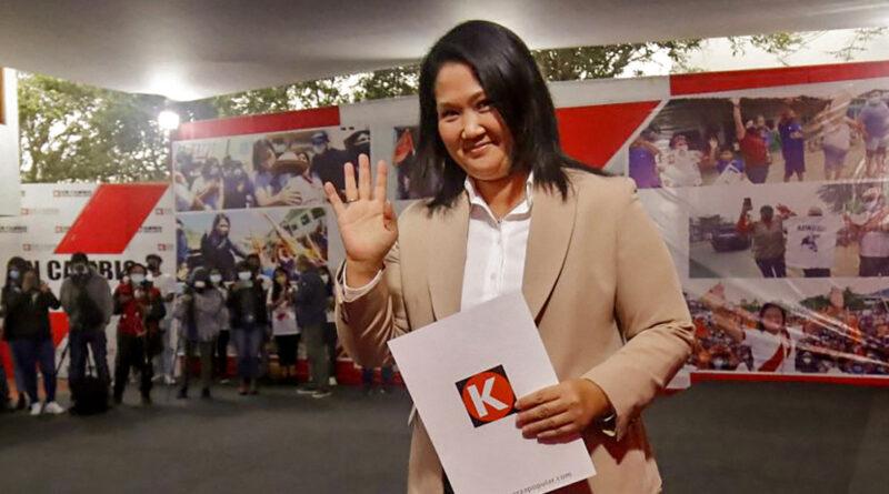 El Ministerio Público de Perú desiste del recurso de apelación que buscaba prisión preventiva para Keiko Fujimori