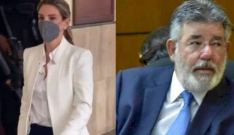 Esposa de Jean Alain responde a Díaz Rúa luego de que tildara a exprocurador de cobarde