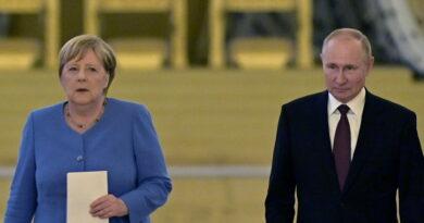 """""""No fue condenado por su actividad política, sino por crímenes penales contra socios extranjeros"""": Putin comenta ante Merkel el caso Navalny"""