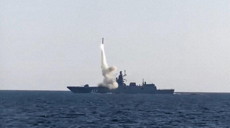 Rusia equipará sus buques de guerra con nuevos misiles hipersónicos Tsirkón