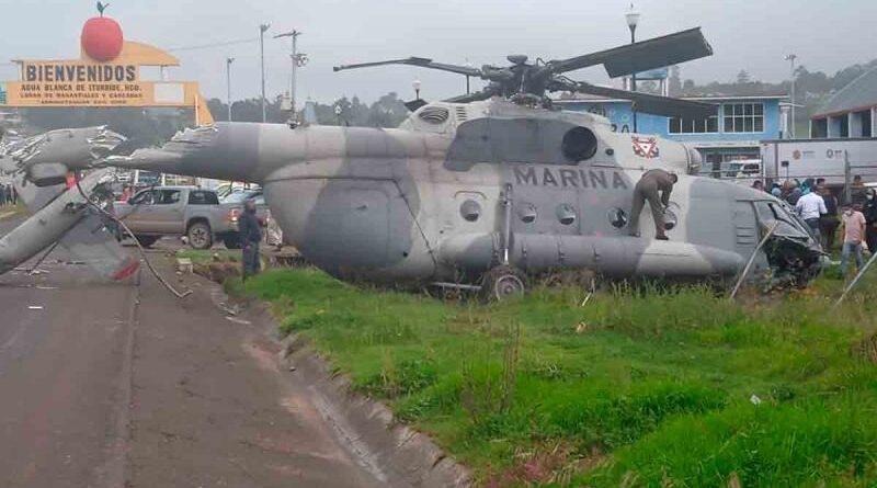 Se desploma en México el helicóptero en el que viajaba el secretario de Gobierno de Veracruz, Éric Cisneros