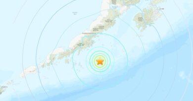 Se produce un sismo de magnitud 6,9 cerca de las costas de Alaska
