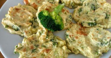 Receta de Tortitas de patata y brócoli