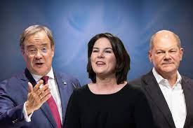 Tres veces no al principio, luego Scholz hace a Merkel