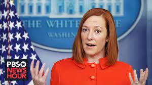 MIRAR: Jen Psaki realiza una rueda de prensa en la Casa Blanca