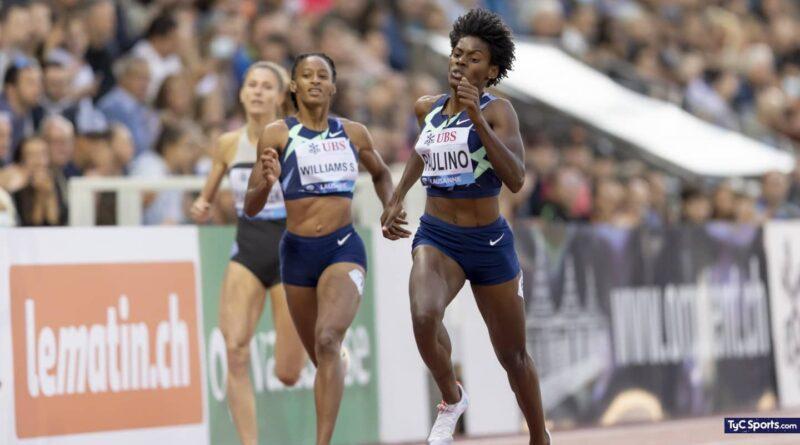 Dominicana Marileidy Paulino se impone en 400 metros de la Liga Diamante