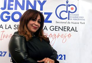 El MMV registra plancha que postula a Jenny Gómez a secretaria general del CDP en NY en elecciones del 27 de agosto