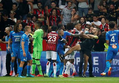 La Ligue 1 francesa convoca a Niza y Marsella a una audiencia disciplinaria tras disturbios