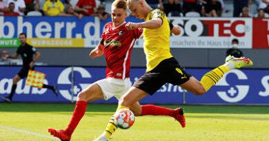 Alemania: Descorazonadora derrota de Dortmund ante Freiburg