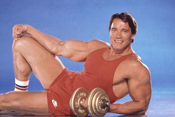 El musculado pasado de Arnold Schwarzenegger