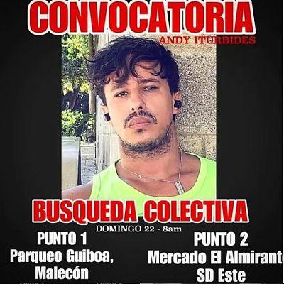 Familiares y amigos del actor desaparecido Andy Iturbides realizan búsqueda colectiva