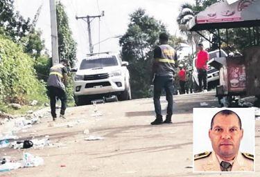 Policía: Muerte de escolta de Jean Alain fue en asalto